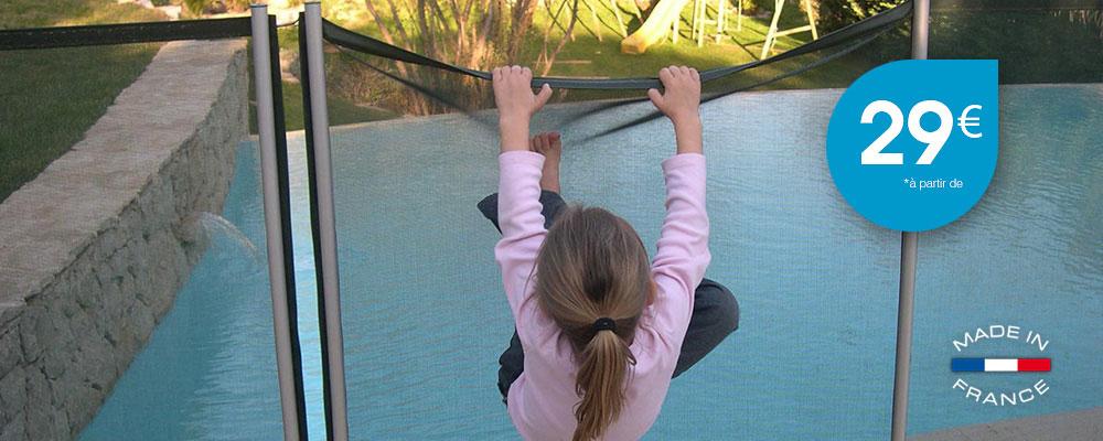 Barrière de sécurité piscine Beethoven à seulement 29 €